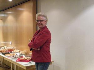 Organisatorin Monika Fiedler